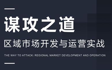 谋攻之道:区域市场开发与运营实战